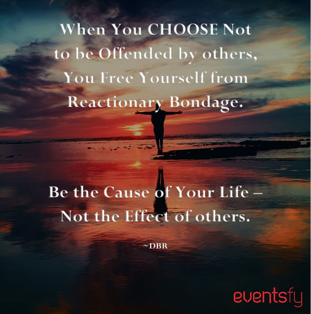 Be Not Offended