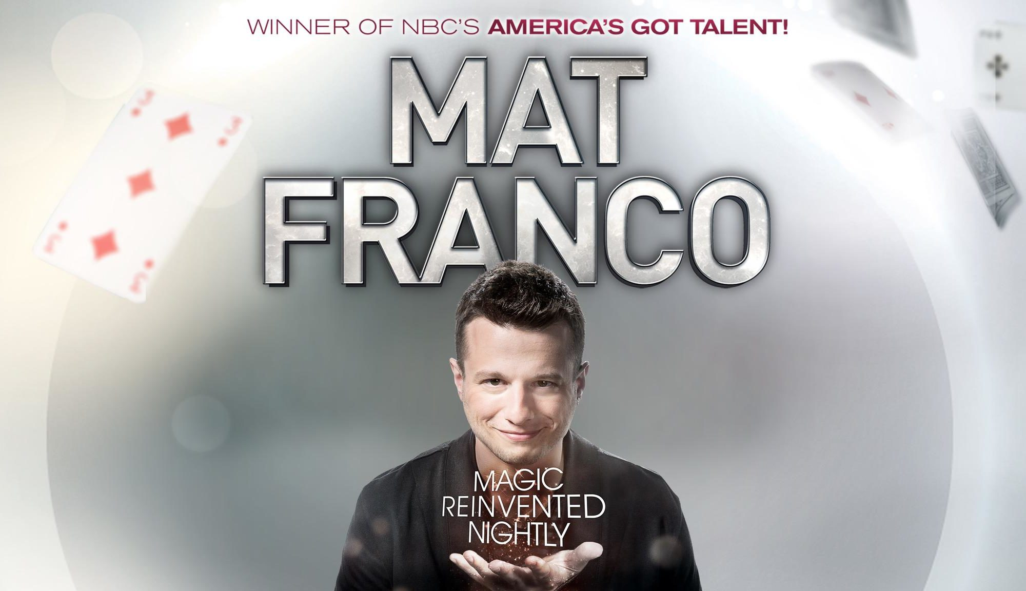 Mat Franco - Magic Reinvented Nightly